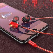 цена на In-ear earphone for iphone 5s 6s 5 xiaomi bass earbud headset Stereo Headphone For Samsung sony earpiece wired audifonos