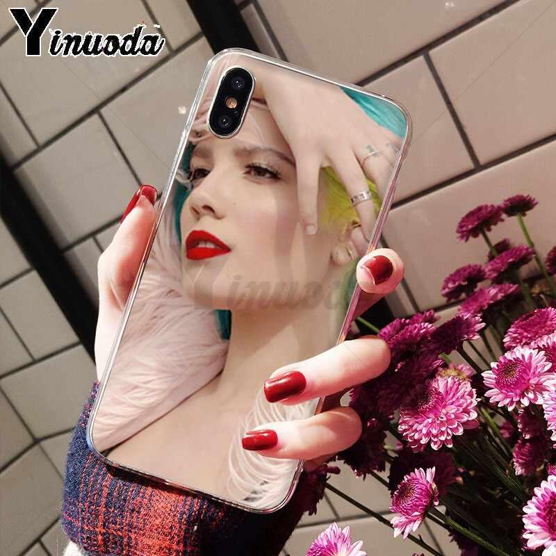 Yinuoda Halsey Umutsuz Çeşme Krallık Yenilik Fundas telefon kılıfı Kapak için Apple iPhone 8 7 6 6S Artı X XS MAX 5 5S SE XR Durumda