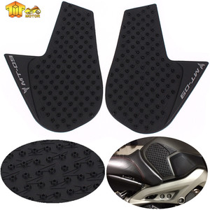 CK CATTLE KING Fit MT09 MT 09 Anti slip Fuel Tank Pad Side Gas Knee Grip Traction Pads For Yamaha MT-09 2014 2015 2016 2017 2018