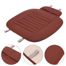 Cuscino del Sedile Auto Non-rollding Up Auto Fodere Per Sedie Traspirante Bambù del Carbone di legna Surround Completo Sedile Proteggere Zerbino Pad Accessori Auto