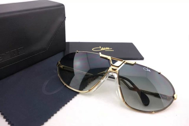 7ef0d7246c FREE SHIPPING 2015 FASHION CAZAL 906 LEGENDS VINTAGE SUNGLASSES MEN AND  WOMEN GOLD FRAME GRAY LENS AUTHENTIC NEW