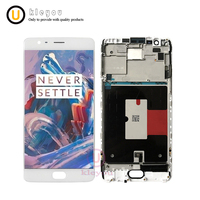 5 5 OEM Amoled For Oneplus 3t LCD Display Touch Screen Digitizer Assembly A3010 A3003 A3000