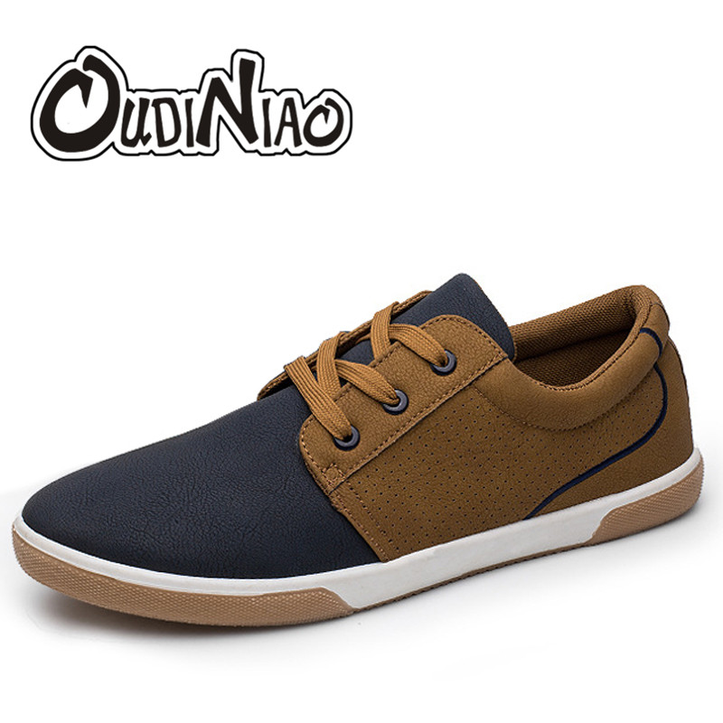 OUDINIAO Breathable Lace Up Shoes Men Designers Mesh Casual Mens Summer Cut Outs Spring Shoes Hot Sale Soft Male Shoes 2018 men s shoes fashion breathable air cushion casual shoes men lace up red blue spring autumn walking jogging shoes mens trainers
