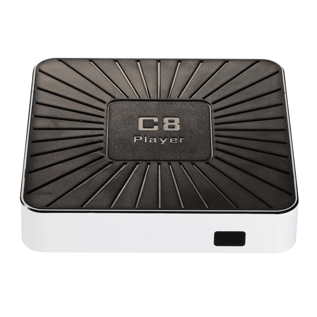 C8PLAYER Direct Factory Android TV-BOX SD Card Up To 32GB De-interlace De-noise Enhancement for Edgedetailcolor