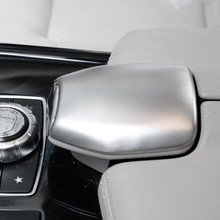 Car Console Armrest Box Switch Button Cover Trim Sticker For Benz E Class CLS E200L 260L W212 E250 E350 2010-2015 цена