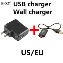 E-XY UE Cargador de Pared y Cargador USB para el cigarrillo Electrónico E cig cigarrillo electrónico EGO EGO-T
