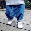 KIKIKIDS Boys & Girls Verão Harem Pants, Crianças Girls & Boys Jeans Em estoque Enfant Crianças Moletom