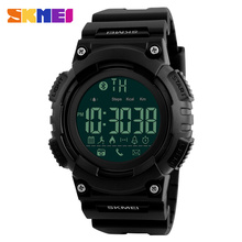 SKMEI Men Smart Watch Remote Camera Call Reminder Digital Wristwatches Pedometer Waterproof Man Sport Watches Relogio Masculino