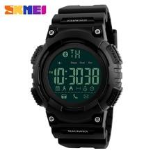 Big sale SKMEI Men Smart Watch Remote Camera Call Reminder Digital Wristwatches Pedometer Waterproof Man Sport Watches Relogio Masculino