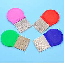 5 pcs pets Dog Pet grooming cleaning products stainless steel flea lice comb Grooming brushes Cat Pets make up tools