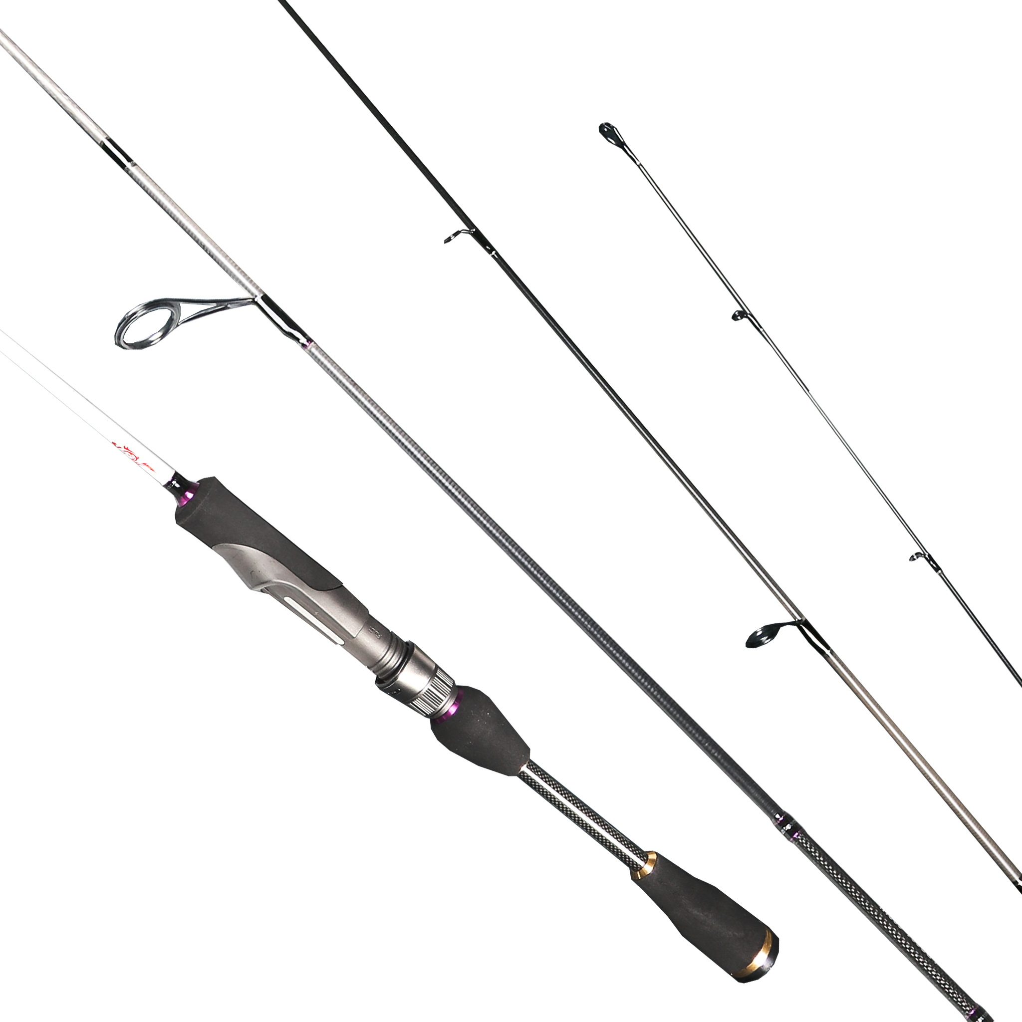 2 Tips 1.83 Spinning Rod with UL/L Baitcasting Rod 96% Carbon Fishing Rod With FUJI A Lure Fishing Pole pesca Fishing Tackle trulinoya 2 1m 7 0 soft carbon spinning fishing rod with two tips m mh power fishing tackle