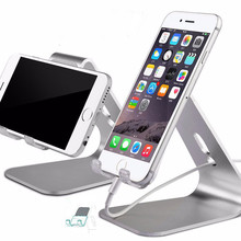Aluminum Phone / Tablet Stand Desk Phone Holder For iPad iPhone Sony Nokia HTC Cellphone And Tablet Stand
