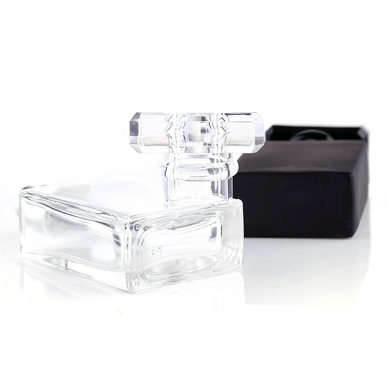 Image 4 - 30ml Glass Empty Perfume Bottles Square Spray Atomizer Refillable Bottle Scent Case with Travel Size Portable-in Refillable Bottles from Beauty & Health