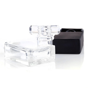 Image 4 - 30ml Glass Empty Perfume Bottles Square Spray Atomizer Refillable Bottle Scent Case with Travel Size Portable