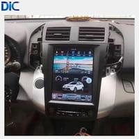 DLC Navigation GPS Car player Vertical screen Android system Radio mirror link Steering Wheel For toyota RAV4 2009 2013