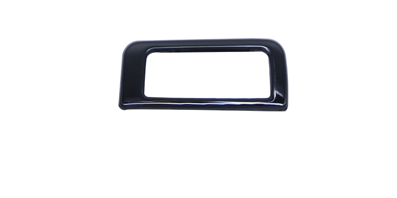 Автомобильный Стайлинг, задний багажник, кнопка управления, декоративная рамка, синий, черный, нержавеющая сталь, наклейка для новой Audi A4 B9