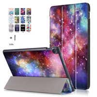 Etui na Asus Zenpad 10 Z301MFL 10.1 ''Tablet Funda dla Asus Zenpad 10 Z300CG inteligentny druku klapki skórzane etui z klapką + rysik