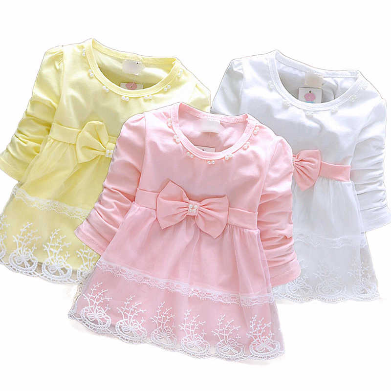 Baby Girls Sleeveless Lace Cake Dress Children Toddler Princess Dress For Baby 1 Year Birthday Kids Girl Baptism Dresses K1