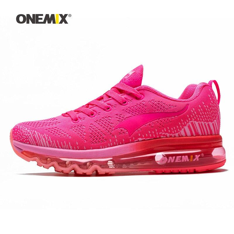 ONEMIX 2019 Women Running Shoes Athletic Trainers Woman Zapatillas Deportivas Sports Shoe Air Cushion Outdoor Walking