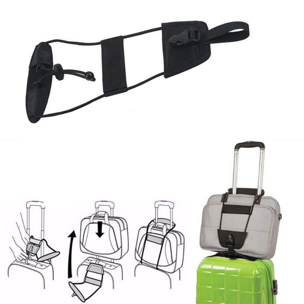 все цены на  Travel Luggage Bungee Bag Strap Suitcase Convenient Adjustable Belt Backpack Carrier Strap Bag Bungee Luggage Attachment System  онлайн