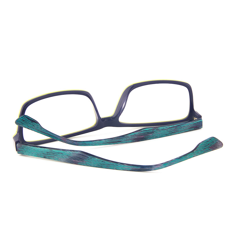 06244a3e177f Gmei Optical T9051 Acetate Full Rim Rectangle Green Front Frame Eyeglasses  for Women and Men Spectacles Eyewear-in Eyewear Frames from Apparel  Accessories ...