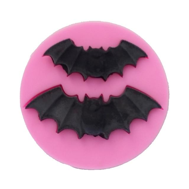 Mini Bat Cooking Tool Silicone Mold Baking Fondant Sugar Craft Decoration Molds Diy Cake Fimo Tools F0698