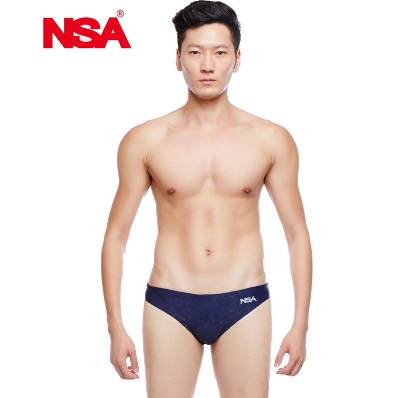 8a1d6494176c4 NSA Swimwear Men Boys Swim Briefs Competitive Swimming Suit Swimsuit Sunga  Racing Swimsuits Printing Sharkskin Swim Shorts-in Body Suits from Sports  ...