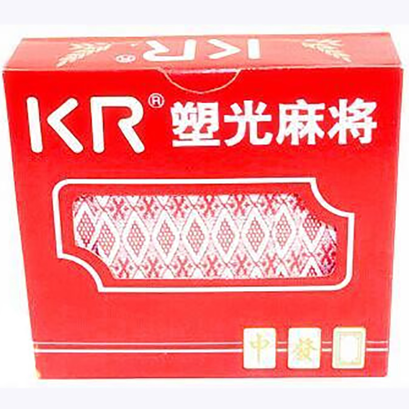 144PCS Cards Mahjong PokerHigh Quality Paper ,Send 2 Dice Easy Carry With Free Shipping