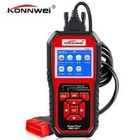100 Original KONNWEI KW850 OBD2 Scanner Supports All OBDII EOBD Protocols Car Diagnostic Tool Instead Of