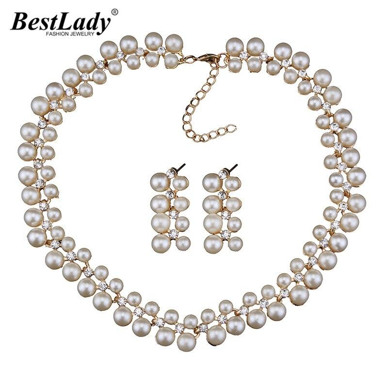696905b4e799 Mejor señora nuevas mujeres de joyería de moda simulado perla gargantillas  collar declaración buena calidad al por mayor 4318