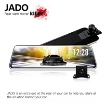 JADO D620S автомобиля Dvrs 4,3 ЖК-экран Full HD 1080 P автомобиля Dvrs регистратор видео регистратор зеркало заднего вида регистратор поддержка воспроизведения