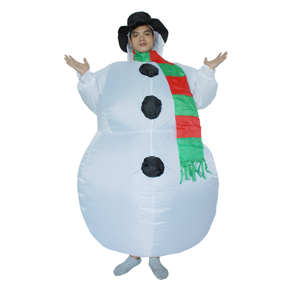 Popular Inflatable Snowman Costume Buy Cheap Inflatable