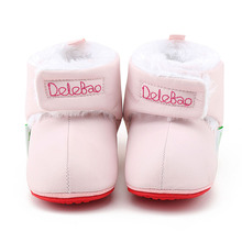 Thickened Plush Baby Boots Pure Cotton Comfortable Warm Winter Infant Toddler Super Cute Animal Shoes