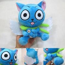 Fairy Tail Cute Anime  Blue Happy Cat