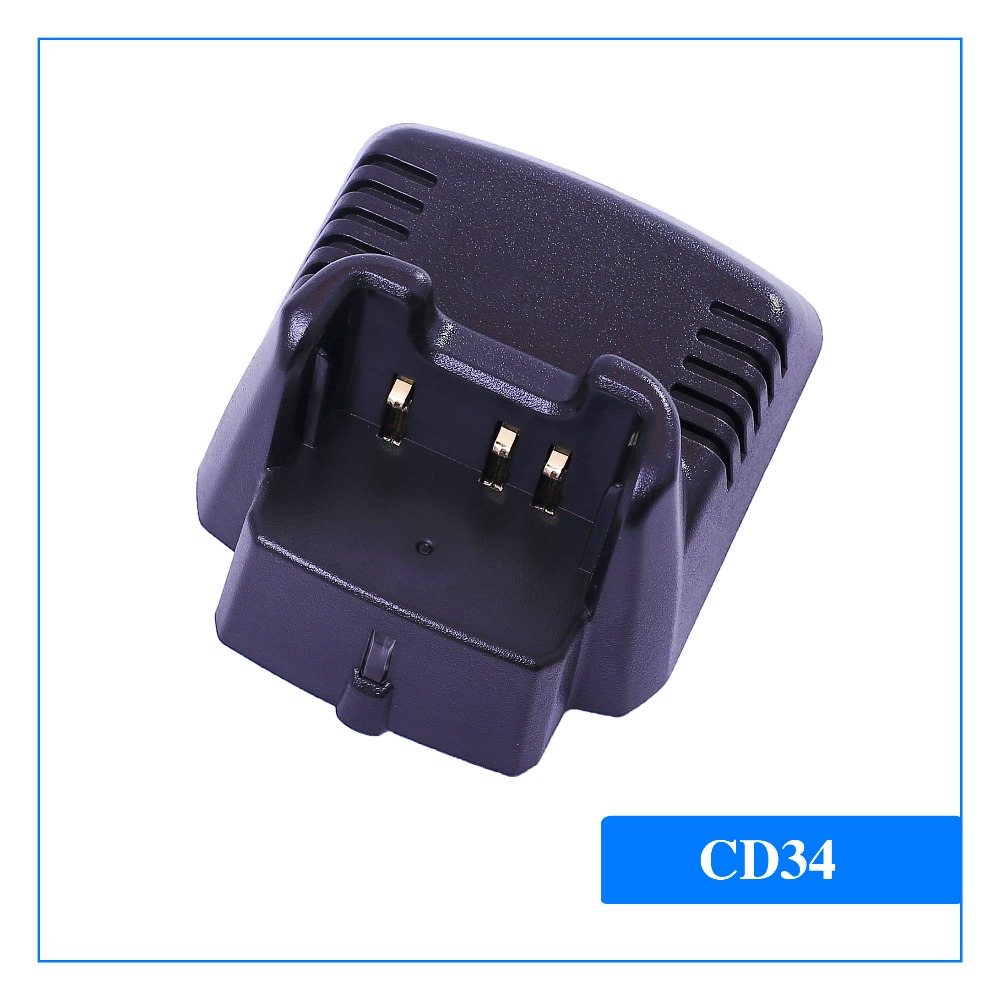 CD-34 Two Way Radio Charger For Vertex Standard VX231,VX351,VX350,VX354 Walkie  Talkie CB Radio Yeasu Radio Charger