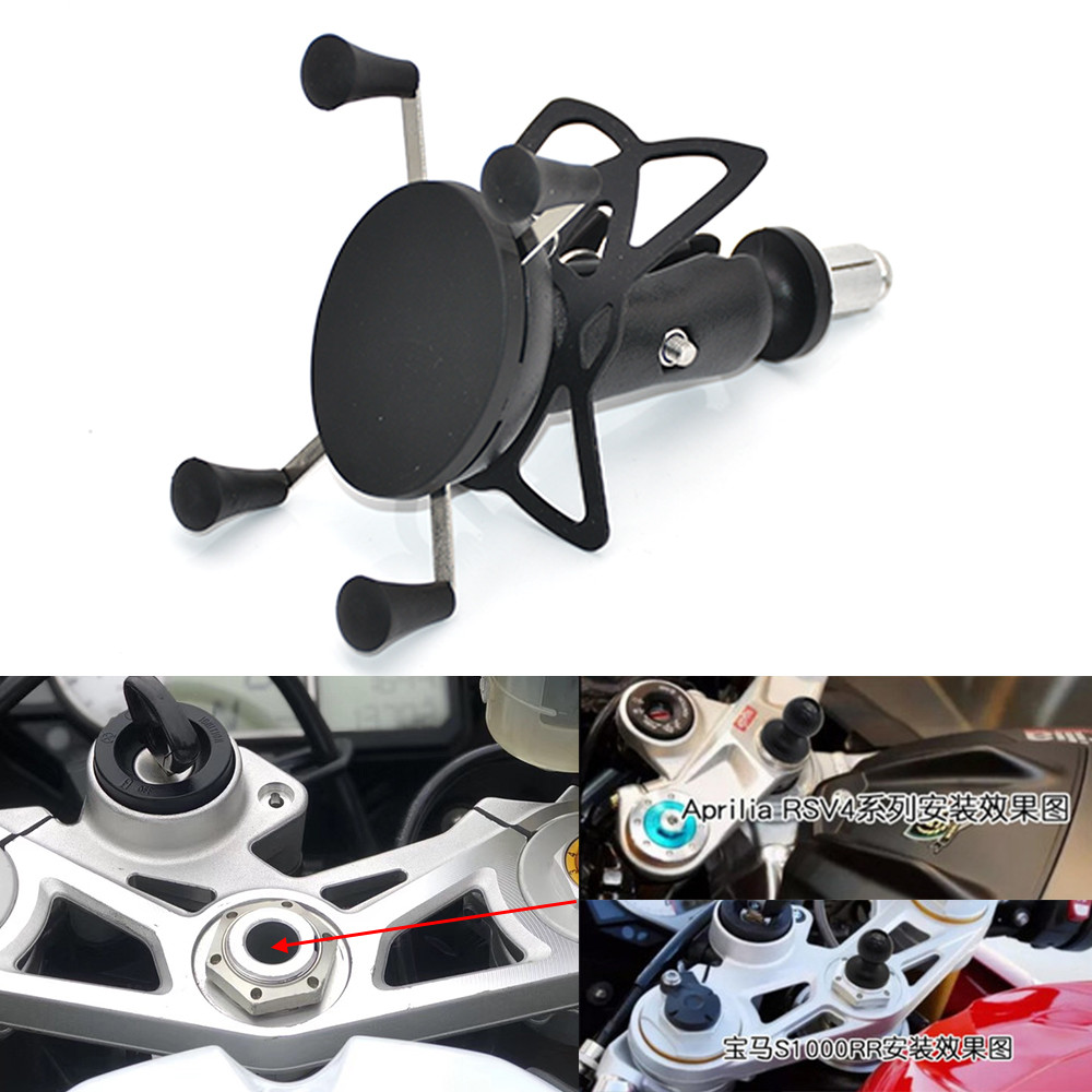For GoPro Action Camera/Mobile Phone Holder For BMW S1000RR 2010-2017 HP4 2012-2014 Motorcycle Mount Bracket 2013 2015 2016