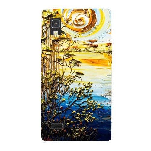 Роскошные картины Coque чехол для LG Optimus L9 P760 P765 красочные милый рисунок телефон В виде ракушки задняя крышка Protector кожи чехол сумка
