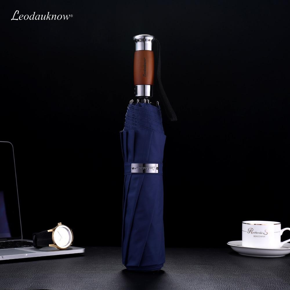 Genuine Brand Large Folding Umbrella Rain 1 2 font b Meters b font Business Men Automatic