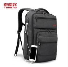 Tigernu Neue Laptop Rucksack 15,6 zoll Usb-gebühren Computer Tasche Rucksack für männer & frauen Business Casual Schultasche Freies Locker