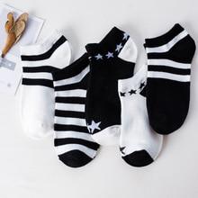 5 Pair/lot cute cat animal print Ankle Socks Girls Funny happy Short Low Cut Boat Candy Color Slipper Sock