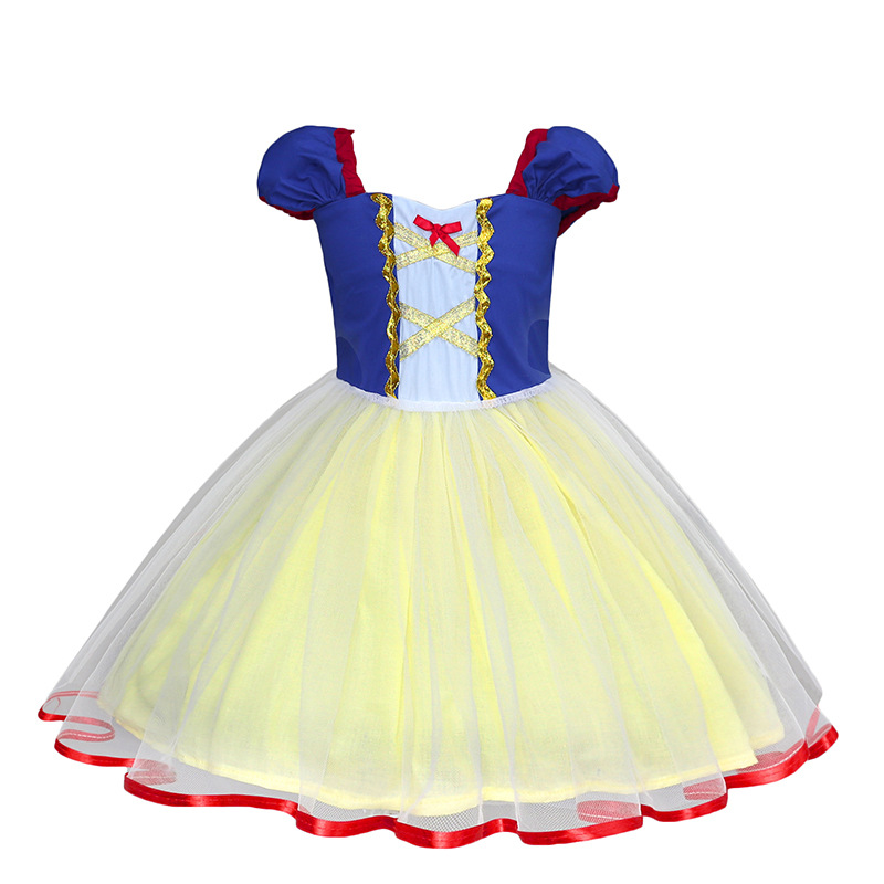 2019 Princess Baby Girl Dress Children Ball Gown Girls Clothes Suit Top Quality Kids Tutu Dresses Outfits Full Dress 1 2 3 4 <font><b>5</b></font> Y image