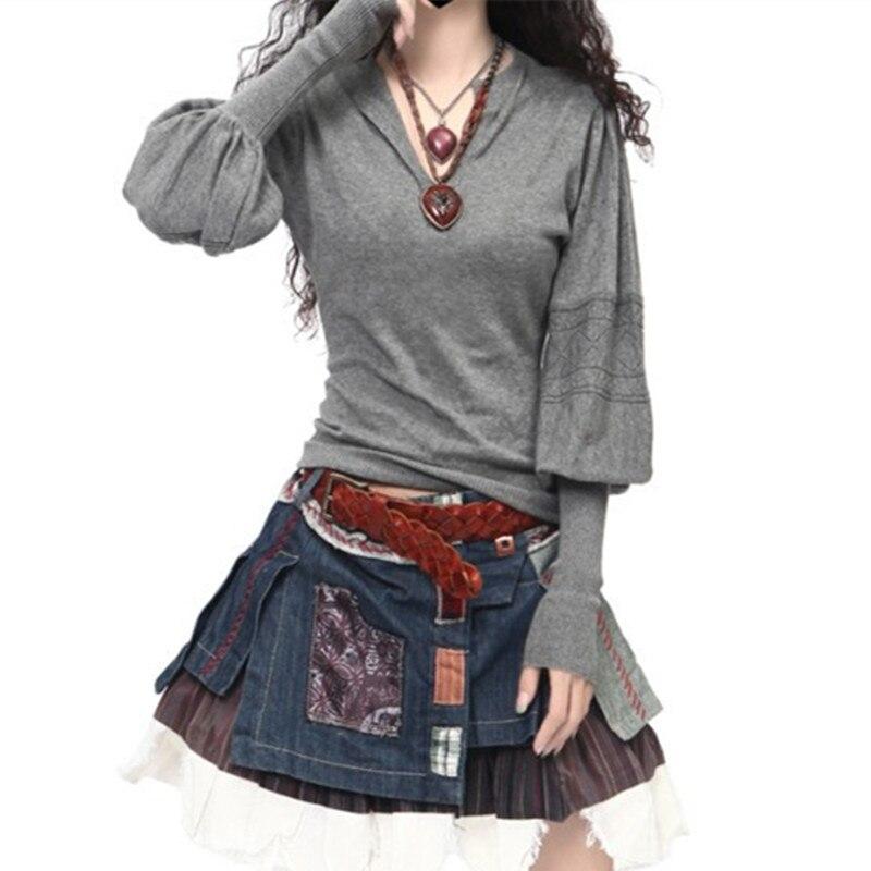 OLGITUM Winter Pullovers Women's Long Sleeve