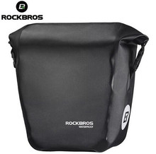 Rockbros Waterproof Bicycle Bags 18L multifunctional Bike Rear Rack saddle Bag Cycling Back Trunk Mountain Accessories
