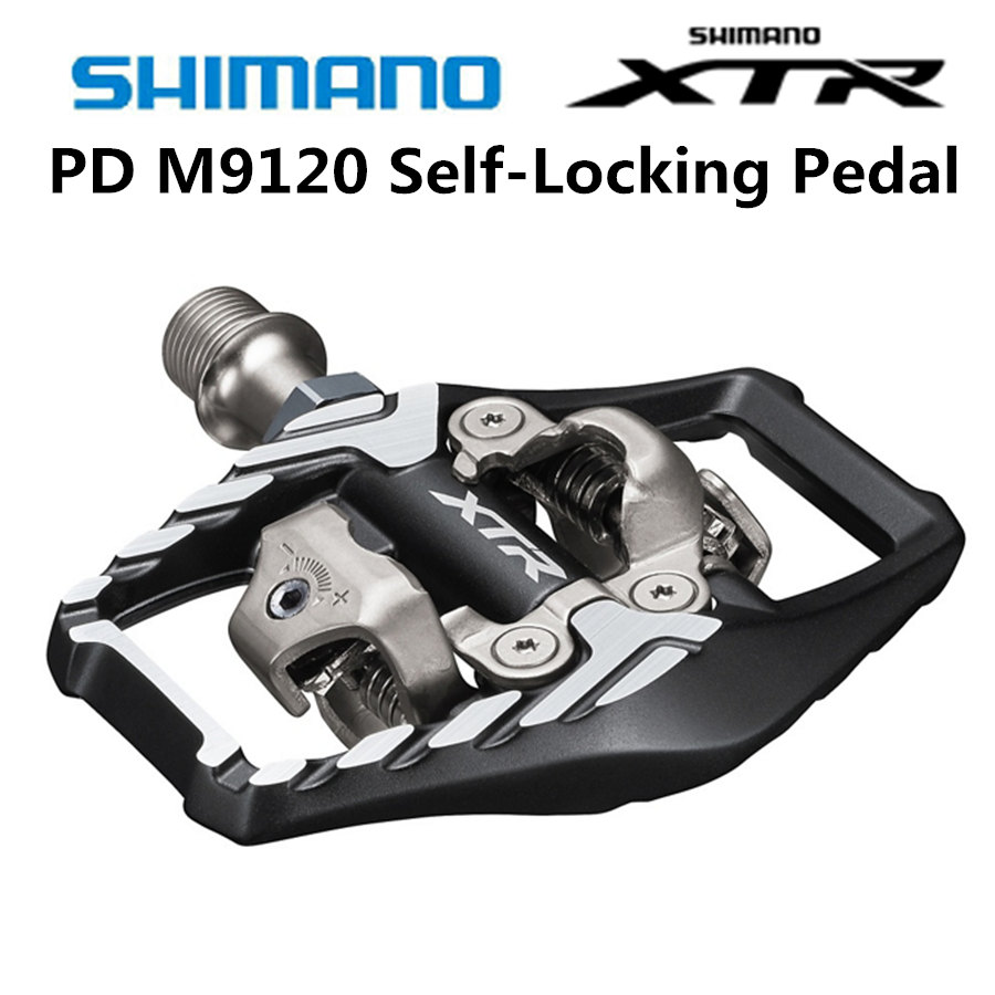 Shimano Deore XTR PD M9020 M9120 Pedal SPD Self locking Pedal MTB M9020 Mountain Bike Clipless