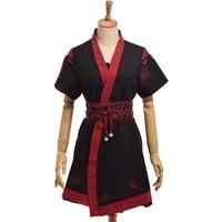 Japanese Vintage Higanbana Print Lolita Dress Outfit Women Cute Summer Dresses Set with Sashes