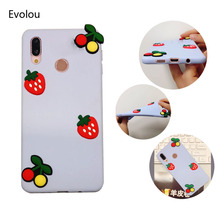 Cartoon Soft Silicone Case For Xiaomi Redmi Note 7 Pro 5 plus note 6 6A Cover Cute DIY Fruit Burger Sunflower Phone Cases