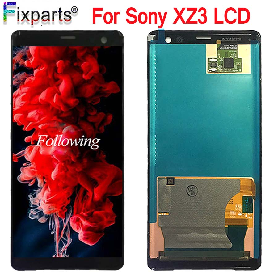 6.0 For Sony Xperia XZ3 LCD Display Touch Screen Digitizer Assembly Display Replacement For Sony XZ3 LCD Screen With Tools6.0 For Sony Xperia XZ3 LCD Display Touch Screen Digitizer Assembly Display Replacement For Sony XZ3 LCD Screen With Tools