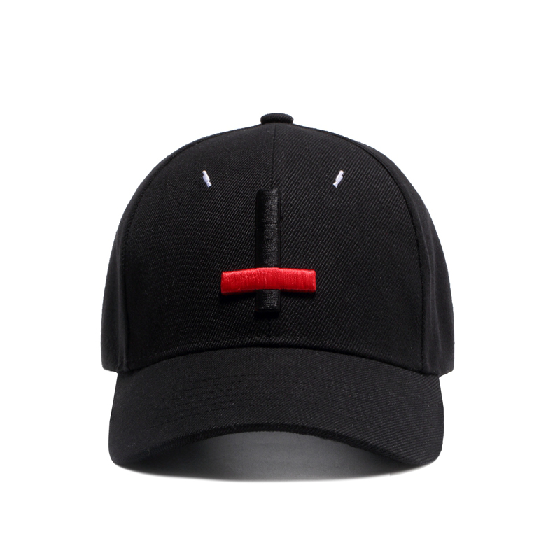 9af75faa0adce Wuke 2017 New Brand Street Dance Cool Caps Embroidery Black Red Cross  Baseball Caps Men Hats Bone Hat-in Baseball Caps from Apparel Accessories  on ...