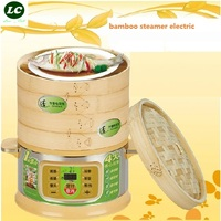 FREE SHIPPING Steamer Pot UTENSIL Bamboo Multi Function 3 Layers 12 Litre 3 Layer Cooking Pot