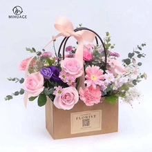 MiHuaGe Packing Bag Kraft Paper Wrapping Wedding Festival Gift Decor Wrap Copy Tissue Flowers